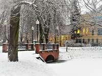 Gorzów το χειμώνα
