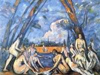 Cézanne, o grande banhista