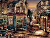παλιό δρομάκι στο Παρίσι