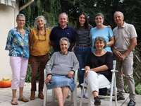 Familie in Normandië