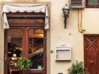 Kaffe i Italien och cykel