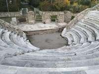 Antiker römischer Wintergarten