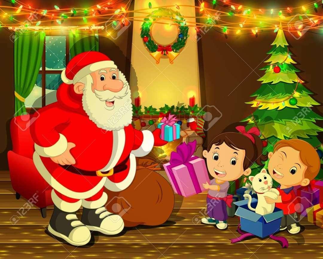 Дядо Коледа - Подаръци от Дядо Коледа (3×3)