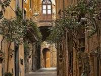 Град Орвието в Италия