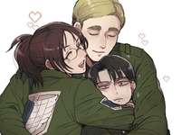 Hanji, Levi e Erwin