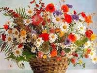 Cos цветя