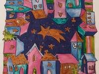 Świąteczna wioska