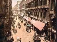 anteriormente vía Toledo 1800 Nápoles Italia