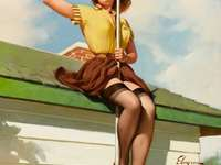 Pin up fata