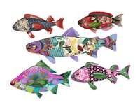 Färgglad fisk