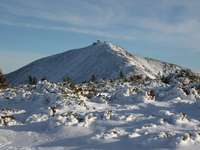 Inverno em Śnieżka
