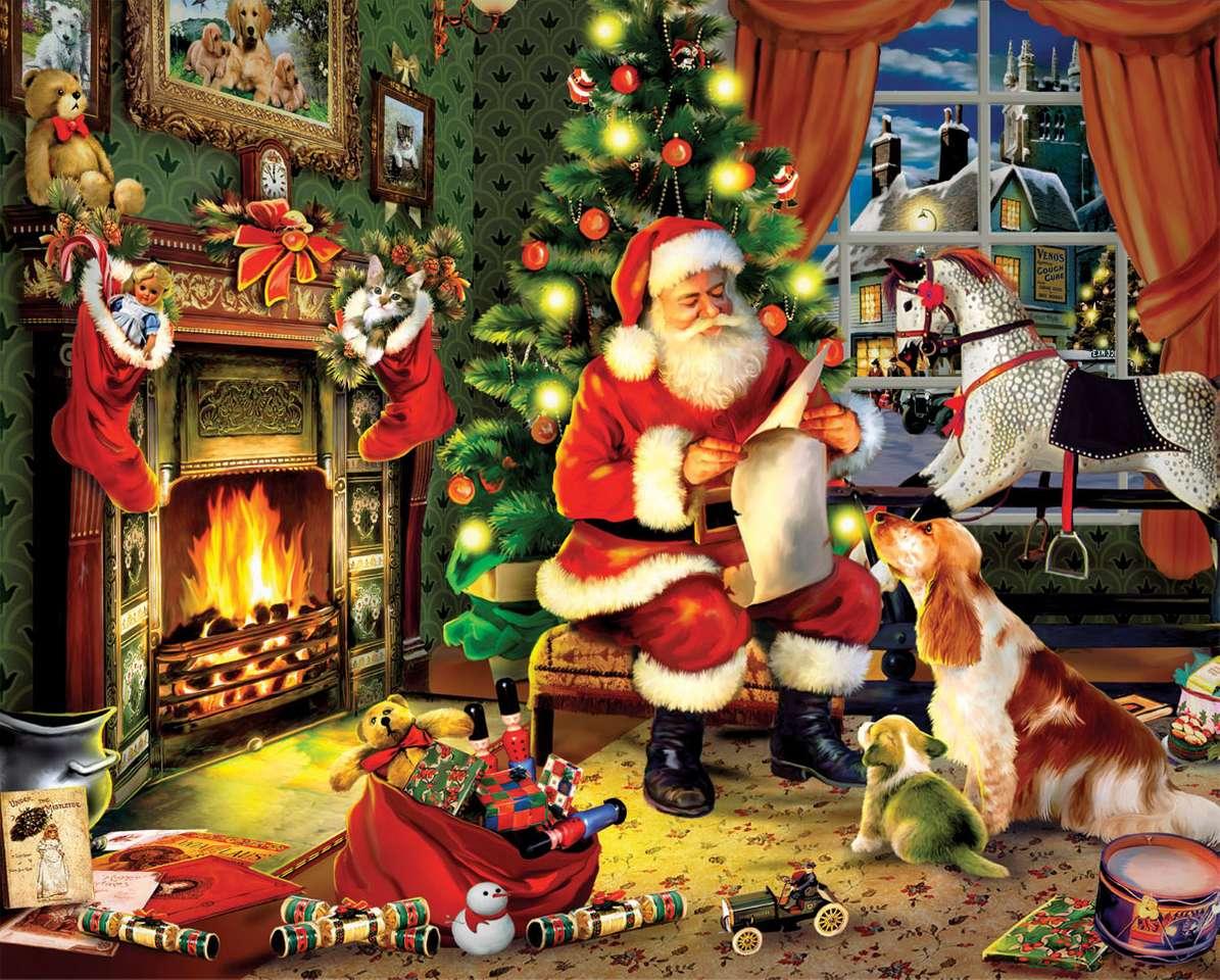 père Noël - Liste de souhaits du Père Noël (9×8)