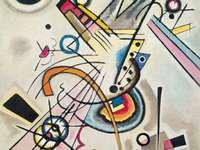 Обекти на картината на Кандински