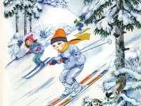 Hry pro děti v zimě