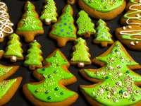 ciasteczka- choinki
