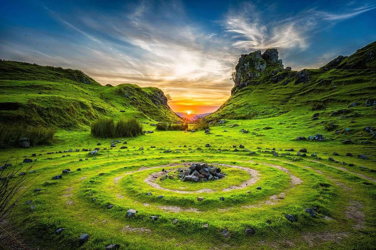 -- schöne Landschaft -- (15×10)