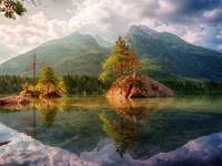 -- красив пейзаж --