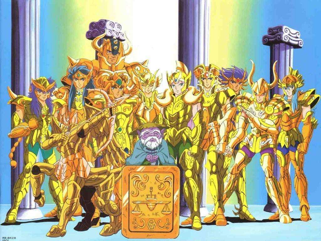 Saint Seiya The Golds - Saint Seiya, gouden ridder (14×11)