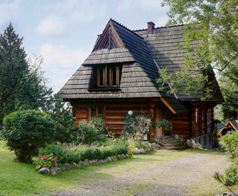 casa em Zakopane quebra-cabeça