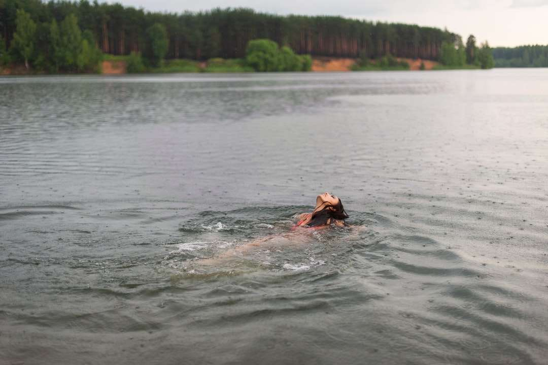 osoba ve vodě během dne - Yaroslavl Oblast, Россия (4×3)