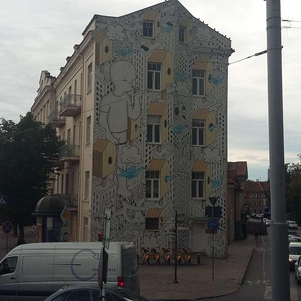 Vilnius - Mural in Vilnius (10×10)