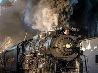 παλιά ατμομηχανή