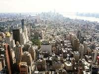 въздушна фотография на високи сгради