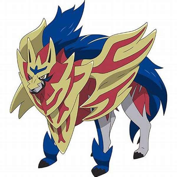 Zamazenta Pokemon Shield - Zamazenta στέφθηκε ασπίδα (8×8)