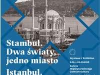 Istanbul. Två världar, en stad - utställningsaffisch