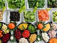 Makroaufnahme von Gemüselos
