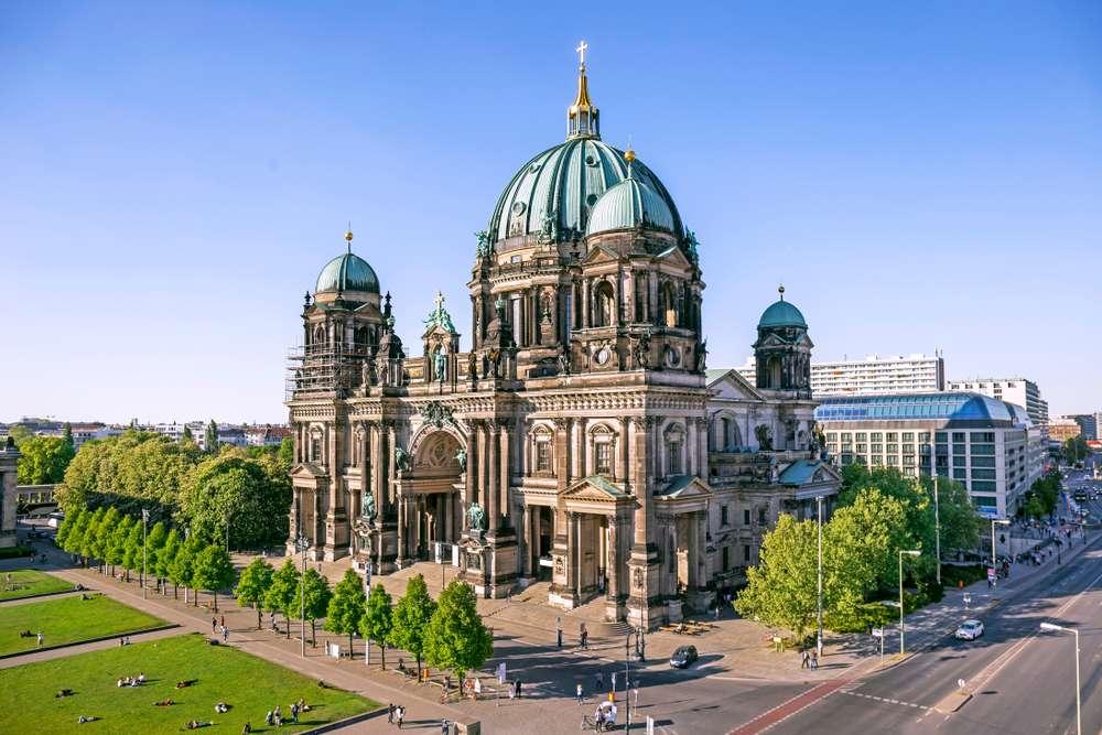 katedrála v Berlíně online puzzle