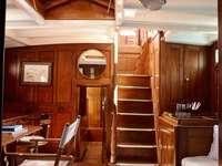Klasszikus hajó belső