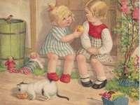 sestřičko, chceš jablíčko
