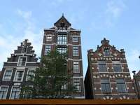 domy v Amsterdamu