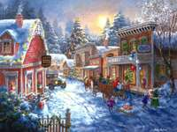 winter holidays in the town