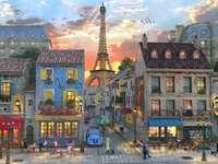 townhouses in paris