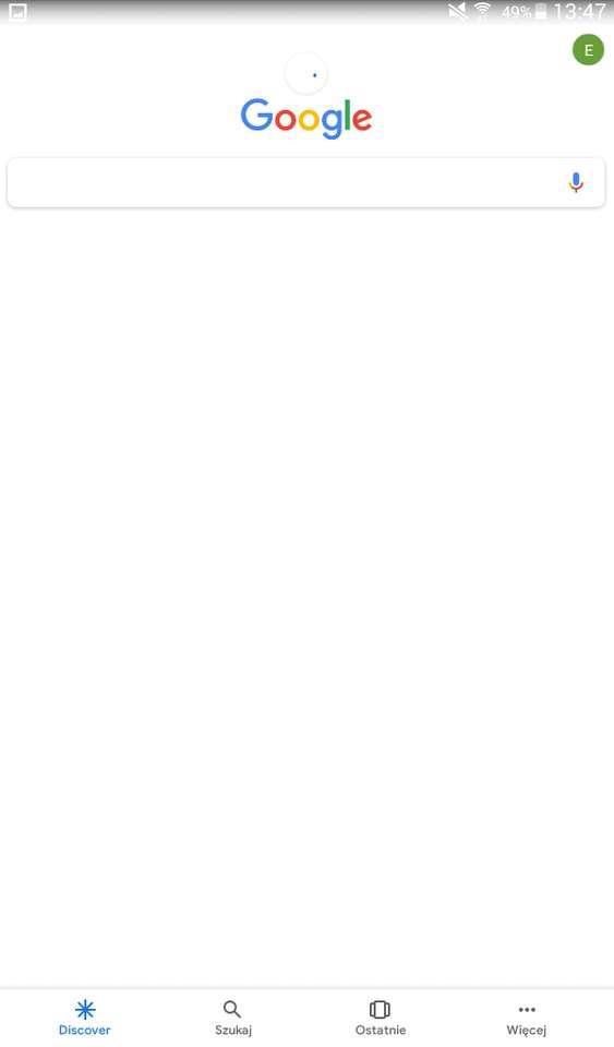 Google je ježek - Ksksismsksjaiskwkajwkdjnnsmdjd (2×5)