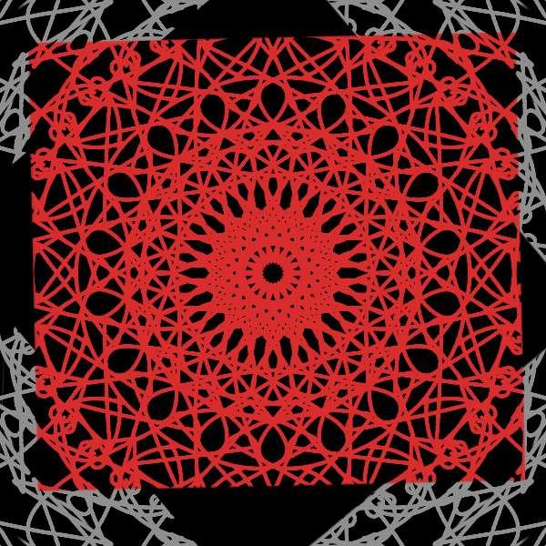"""Мандала - Ето един пъзел от поредицата """"Мандала"""", направена от мен. Надявам се да ви хареса (4×4)"""