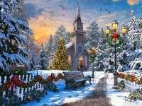Χριστουγεννιάτικη θέα