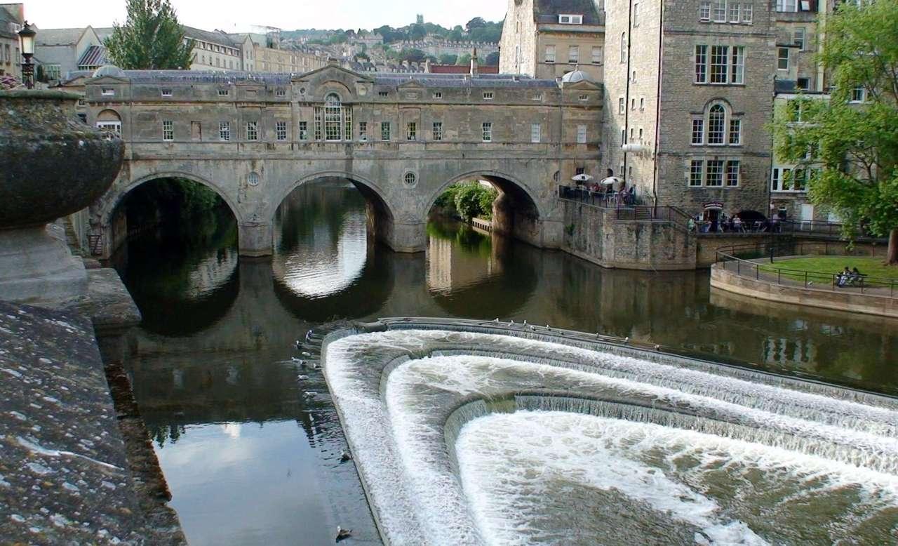 Bath Inghilterra - Una città sulle rive di Avon. Inghilterra (14×9)
