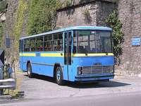 régi busz Fiat Olaszország