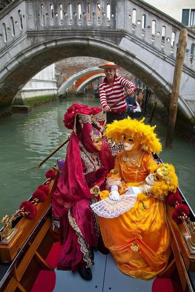 Maschere e costumi del Carnevale di Venezia (8×12)