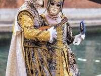 Weneckie maski i kostiumy karnawałowe