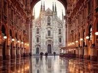 Italien sikt av domkyrkan