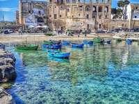 Oude sites aan zee