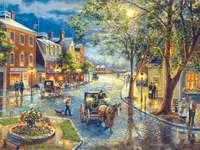 Városi életkocsik festése