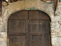 Ușă în Aubrac