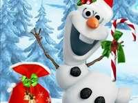 олаф весела Коледа