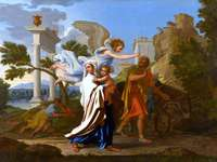 Escape to Egypt (painting by Nicolas Poussin)