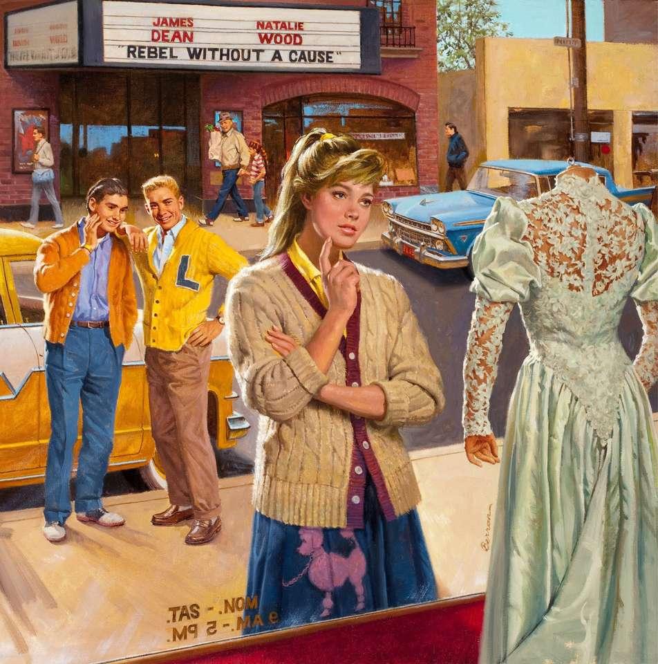 robe de mariée - Une photo de Robert Lee Berran (1923-2020) (10×11)